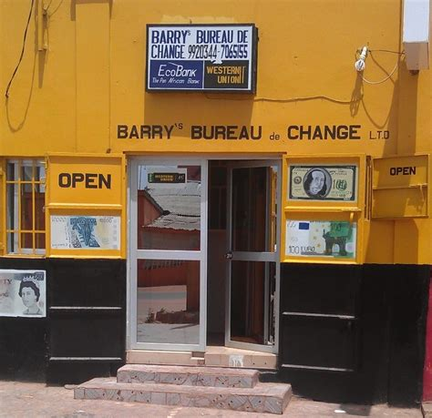 barry s bureau de change gambia ltd