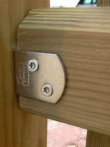 Sonnensegel Pfosten Holz : l winkel flechtzaunhalter f r zaunfelder und pfosten aus ~ Michelbontemps.com Haus und Dekorationen