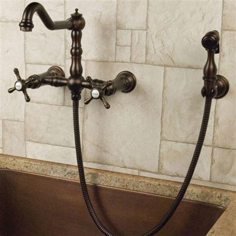 Mounted Kitchen Faucet With Sprayer by Wall Mount Kitchen Faucet With Spray Event Space