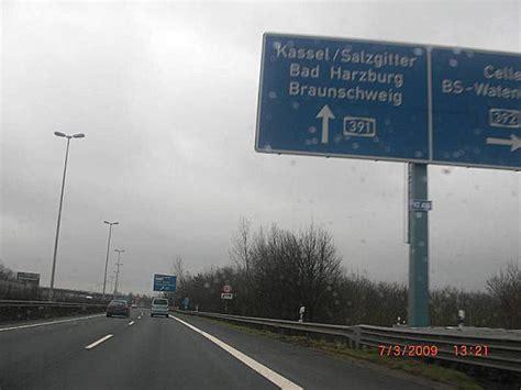 Autobahn Tempolimit Nach Auffahrt by Fotos A391 Braunschweig 2
