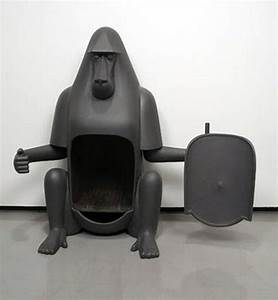 Gorilla pot belly stove LOL Too cute   Old Pot Belly ...