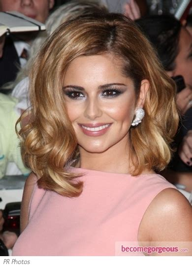 Pictures Cheryl Cole Hairstyles Cheryl Cole Curly Long Bob