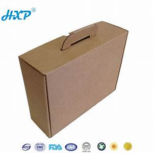 Laptop Packaging Cardboard Box Carry Handle Cardboard Box