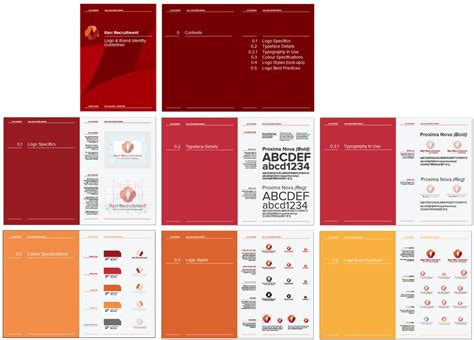 brand guide template brand asset management for design projects