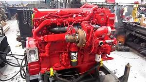 2013 Cummins Isx15 Diesel Engine Running