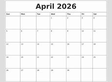 May 2026 Blank Monthly Calendar Template