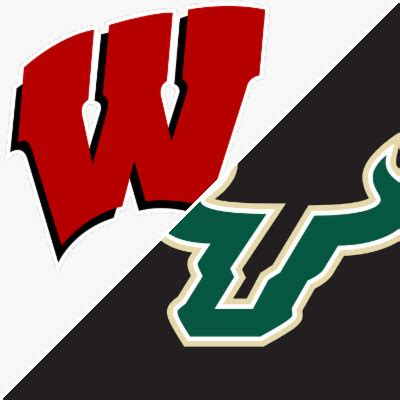 wisconsin  south florida game summary august