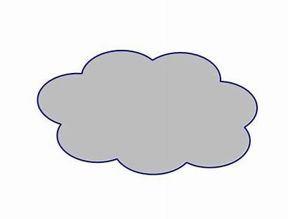 Cloud Clip Clipart Clker Cliparts