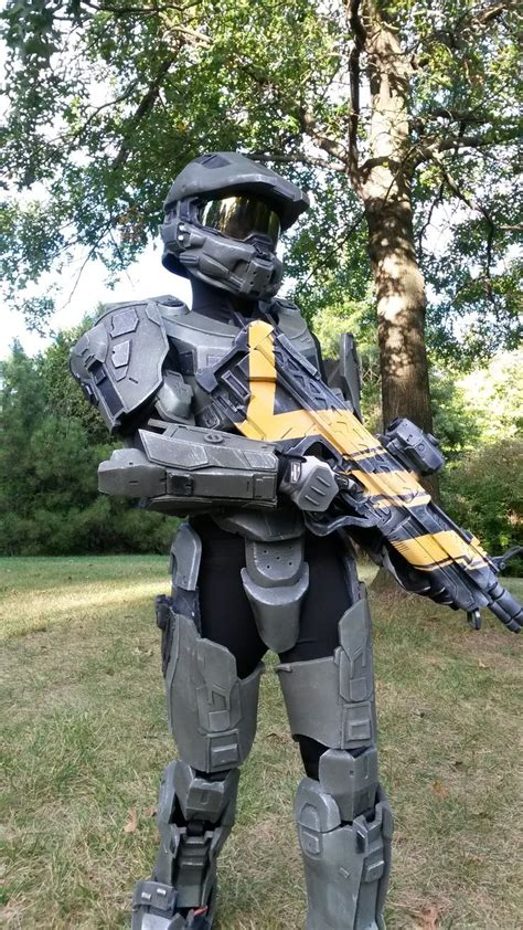 completed halo  master chief costume costume  armor