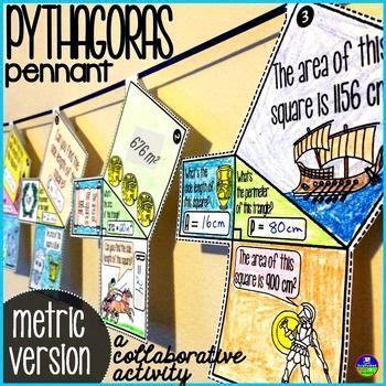 pythagorean theorem pennant metric version  images