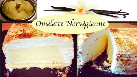 cuisine norvegienne recette omelette norvégienne facile