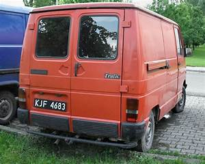 Renault Trafic 2 5 1985 Technical Specifications