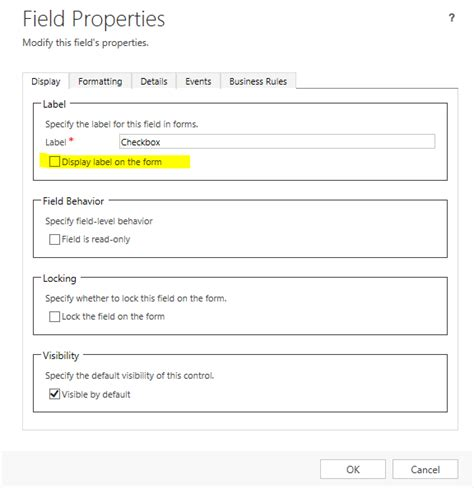crm 2013 checkbox on left side microsoft dynamics crm