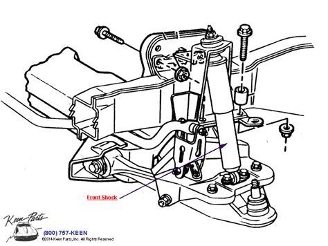 Corvette Front Shock Parts Accessories For
