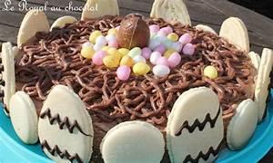 Dessert Paques Original : le royal au chocolat de p ques en images la cuisine des p 39 tites douceurs ~ Dallasstarsshop.com Idées de Décoration