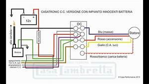 Schemi Elettrici Per L U0026 39 Accensione Casatronic  Versione