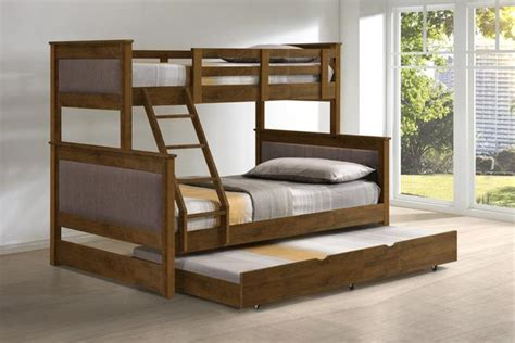 americana triple bunk bed  trundle picketrail