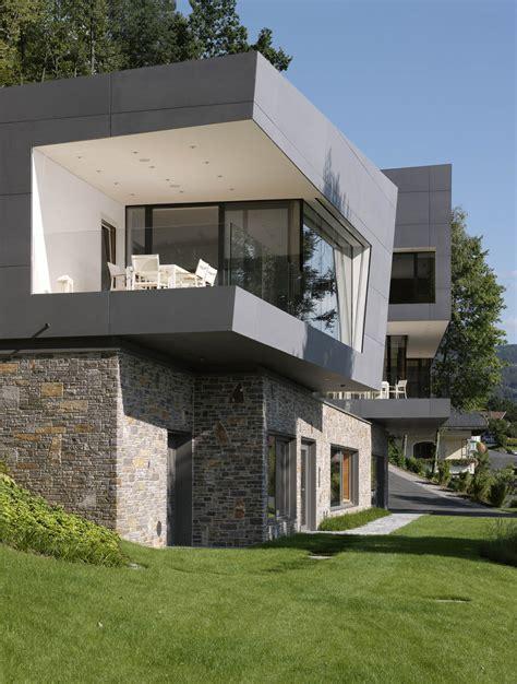 Moderne Häuser Am See by Haus Am See Kurt Pock Tragwerksplanung