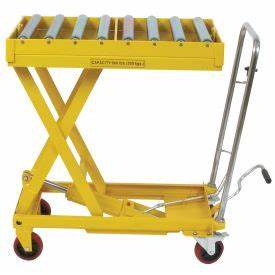 Purchase Mobile Lift Tables With Conveyor Table Top