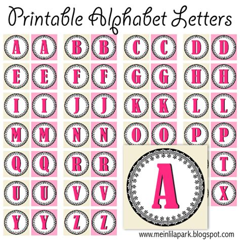 images  printable single letters numbers