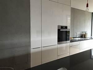Welche Tapete Passt In Die Küche : betonoptik die trendige wandgestaltung farbefreudeleben ~ Sanjose-hotels-ca.com Haus und Dekorationen