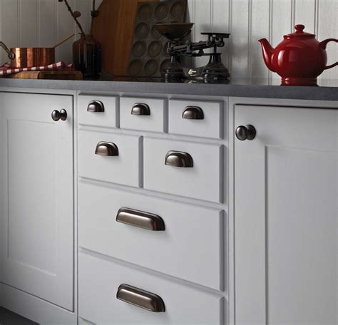 Kitchen Cupboard Handles And timeless classic kitchen cupboard door handles in rubbed