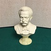 Johann Strauss Bust, Signed A. Giannelli, 1972, Alabaster ...