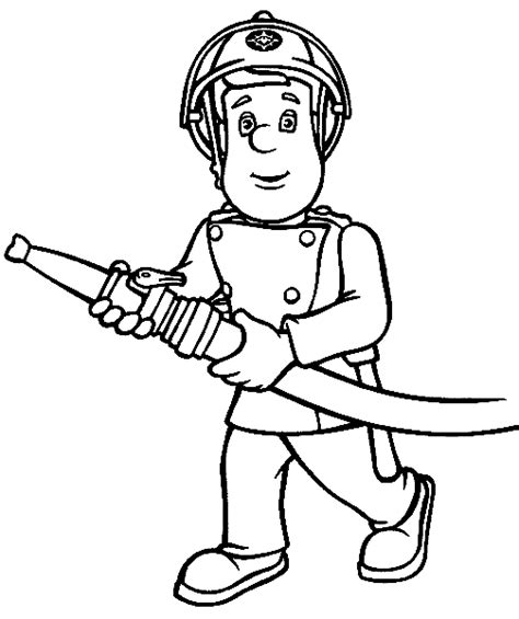 Ausmalbilder feuerwehr sam kostenlos  Malvorlagen zum