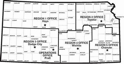 Lakes State Fishing Counties Locations Cfap Kansas