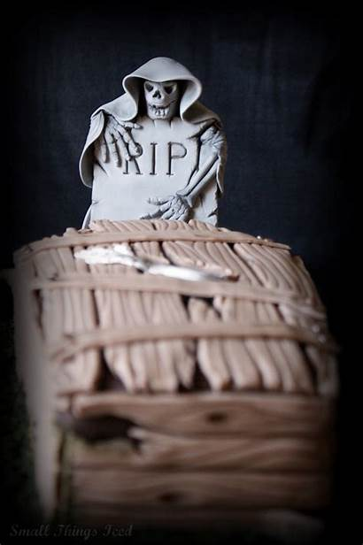 Coffin Halloween Cake Things