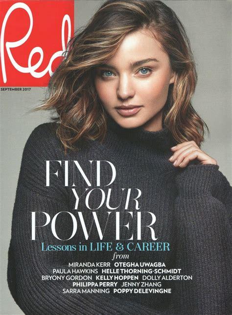 Miranda Kerr - Red Magazine UK September 2017 Issue ...