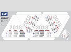Pirámide Española 2018 Del Calendario De La Plantilla