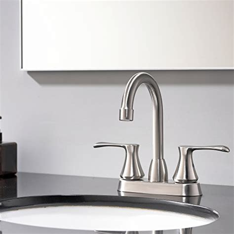 Modern Stainless Steel Bathroom Faucets by Comllen Modern Stainless Steel Handle Basin Vanity