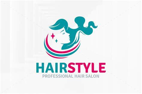 hairstyle salon logo template logo templates creative
