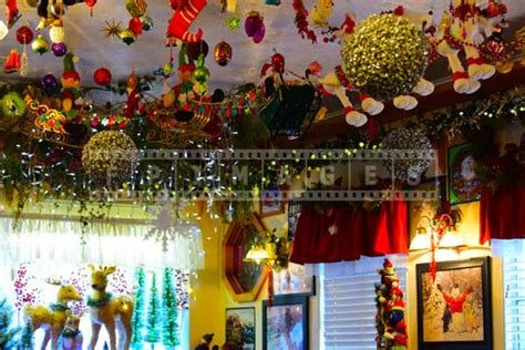 in decorations delicious food and colorful decorations at
