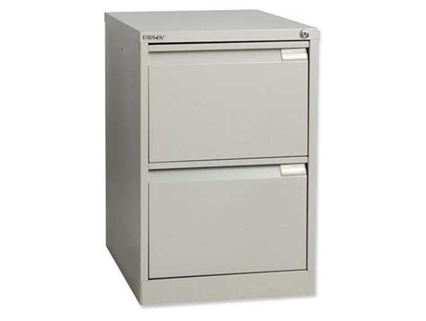 bisley bs2e filing cabinet 2 drawer