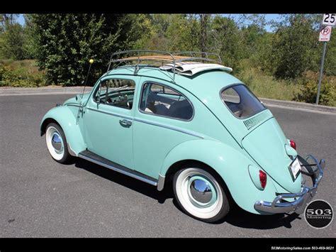 4 Door Volkswagen by 1963 Volkswagen Beetle Classic Ragtop 4 Speed Manual 2