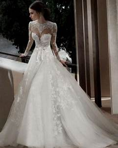 beautiful lace wedding dresses with sleeves naf dresses With all lace wedding dress