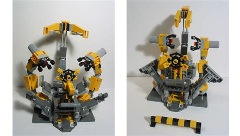 LEGO IDEAS - Ironman in suit-up-gantry