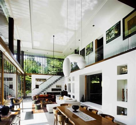 cool home interior designs big house with beautiful ponds as cooling elements the