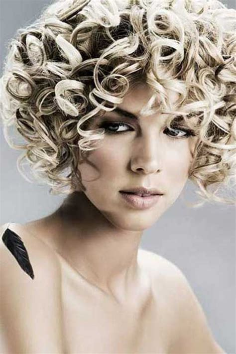 pretty short curly hairstyles   love