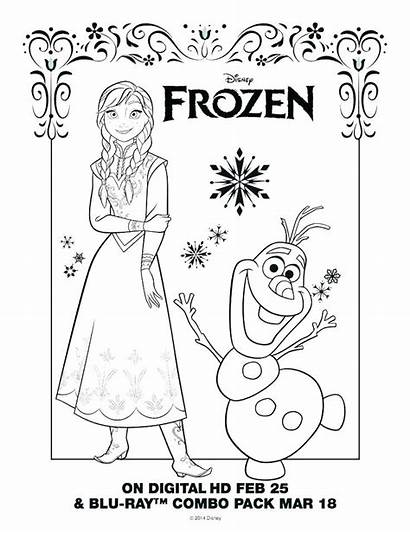Coloring Birthday Happy Pages Nana Frozen Printable