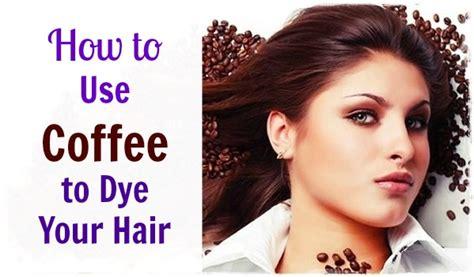 coffee  dye  hair  improve  hair
