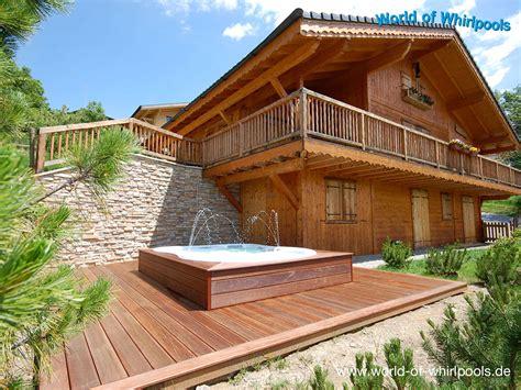 Freistehender Whirlpool Garten by Freistehende Whirlpools Whirlpools Nrw F 252 R Den Garten