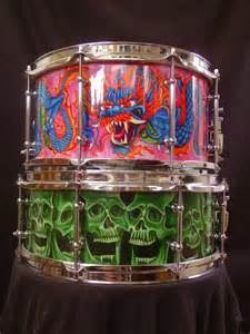Custom Snare Drum Dragon