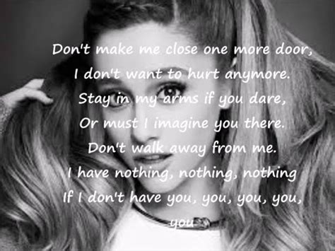 Ariana Grande One Last Problem
