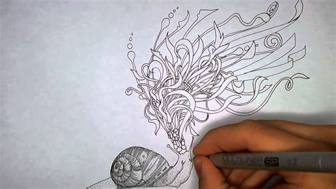Snail Emperor Drawing and Inspiration - YouTube