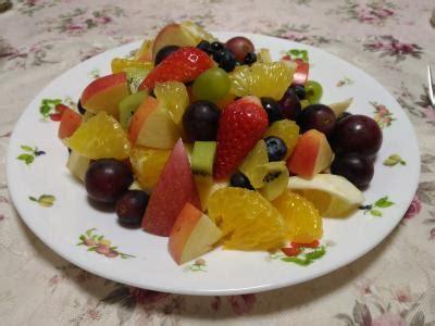フルーツ サラダ ヨーグルト
