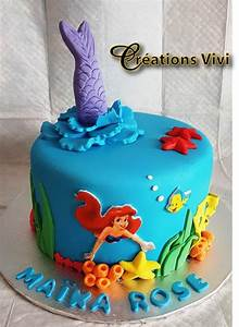 Little Petit Gateau Lyon : g teau la petite sir ne gateau anniversaire en 2019 birthday cake cake et desserts ~ Nature-et-papiers.com Idées de Décoration