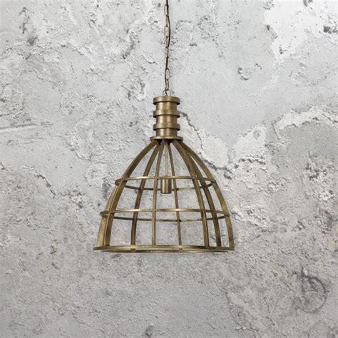 cage pendant light industrial bronze cage pendant light e2 contract